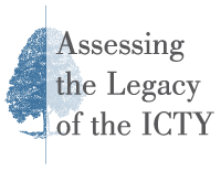Logo for the Assessing the Legacy of the International Criminal Tribunal for the Former Yugoslavia (ICTY) Conference