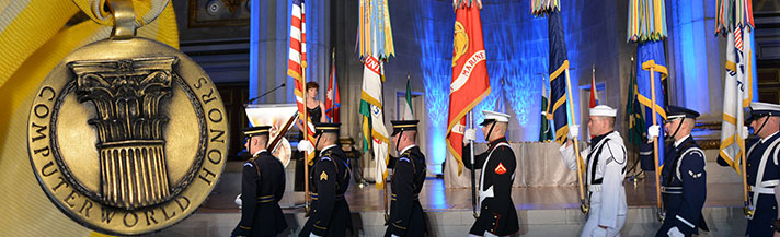 Computerworld Medal and Color Guard