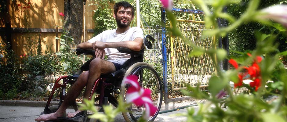 Medin Mrso u invalidskim kolicima | Medin Mrso in a Wheelchair
